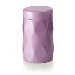 Puszka na herbatę Crystal - liliowa