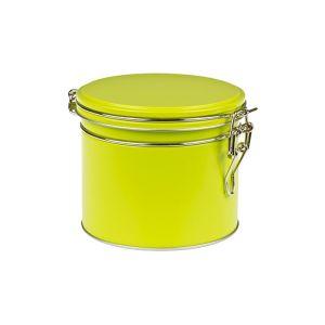 Puszka na herbatę hermetyczna - zielona